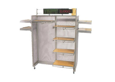 China Heavy Duty Retail Store Shelving , High Grade Metal Storage Shelves Freestanding supplier