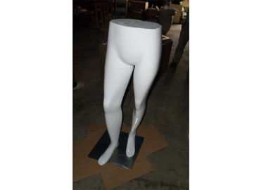 China White Half - Body Retail Display Mannequins Recyclable Eco - Friendly For Supermarket supplier