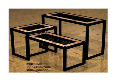 China Commercial Boutique Display Tables , Heavy Duty Tiered Retail Display Tables Portable supplier