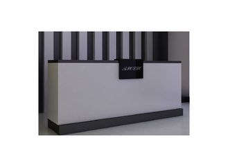 China 180CM Length Middle Size Shop Till Counter , High Grade Front Desk Retail Cash Wrap Counter supplier