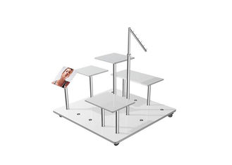 China High Grade Commercial Cloth Hanger Stand , Wood Practical  Garment Display Racks supplier