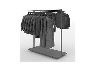 China Double - sided steel clothes rack durable , Easy Assembly spiral clothes rack supplier