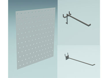 China Metal Hole Panel Store Display Hooks supplier