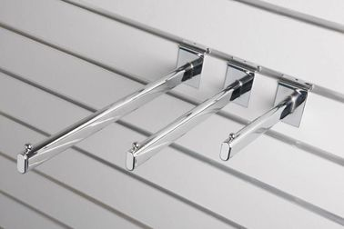 China Supermarket  Shop Plastic Display Hooks , Security Retail Wall Hooks supplier