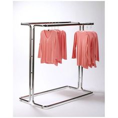 China Fashionable Metal Single Bar Garment Display Stand Clothes Hanging Rack For Hanging Items supplier