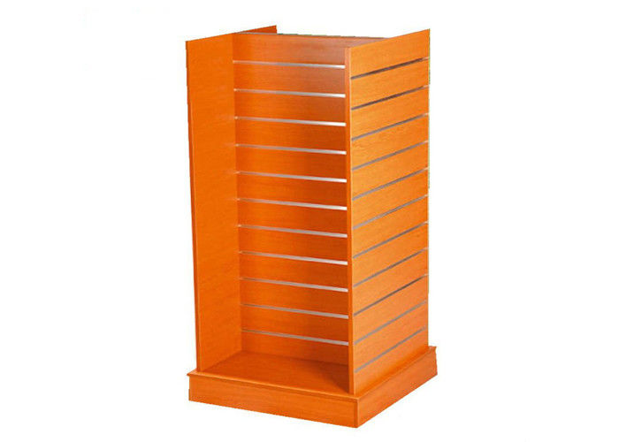 Double Sided Floor Standing Retail Wall Shelving