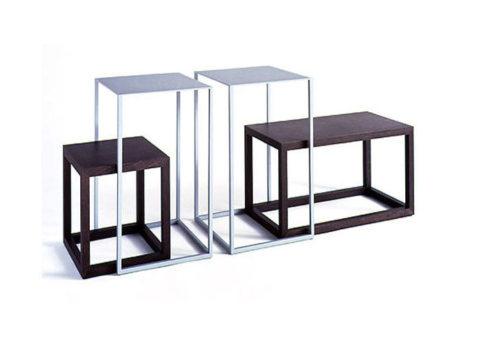 Delicieux Standard Display Nesting Tables Modern Style , Shop Display Tables  Freestanding Metal