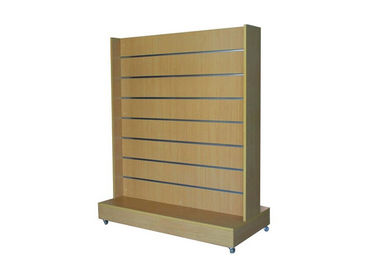 Retail Store Practical Slatwall Display Stand Space Saving Simple Style Eco - Friendly