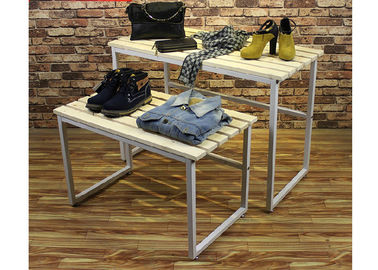Multi - Funcutional Nesting Display Tables Mobile Space Saving For Shopping Mall