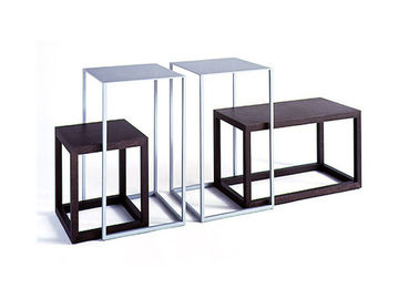 Standard Display Nesting Tables Modern Style , Shop Display Tables Freestanding Metal
