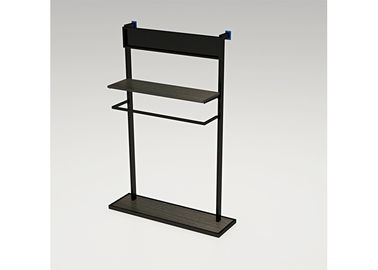 Freestanding Metal Wall Mounted Shelving Unit , Easy Assembly Wall Mounted Display Shelves