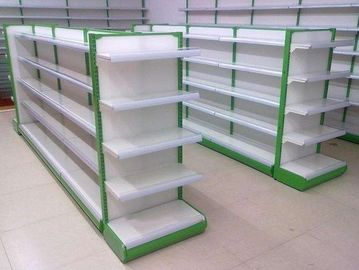 Shopping Supermarket Two Sides Shelf  Gondola / Display Shelving