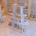 Hot Sale Shoes Store Metal Or Wood Standing Display Stand For Shoes