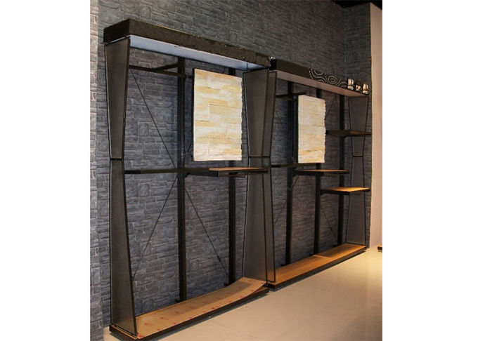Customized Wall Mounted Shelving Systems , Multi - Funcutional Wooden Shelving Units